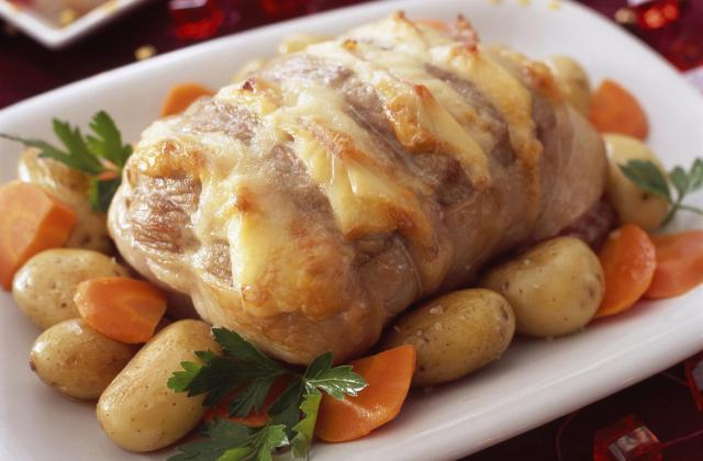 Rôti de porc au Maroilles Fauquet - Photo par 750g