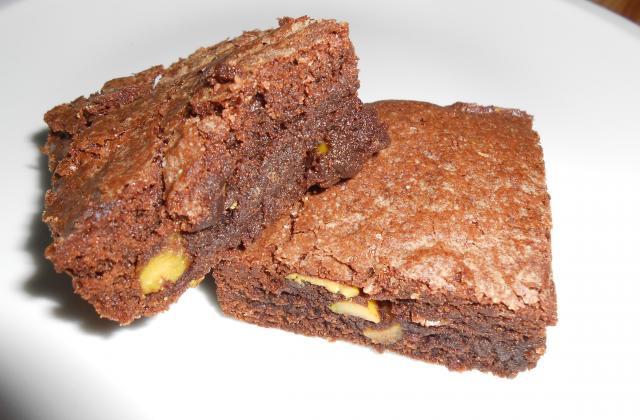 Brownie choco pistache - Photo par VirginieL