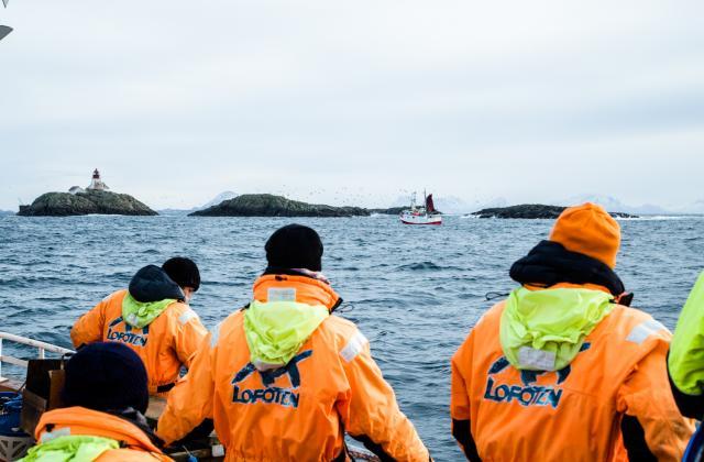Reportage Photos sur mon voyage en Norvège, le pays du cabillaud Skrei - Photo par Chef Damien