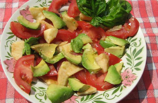 Salade légère 3 saveurs - Photo par france88