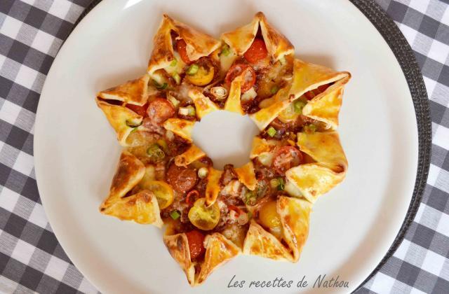 Pizza soleil au parmesan et à la pancetta  - Photo par Communauté 750g
