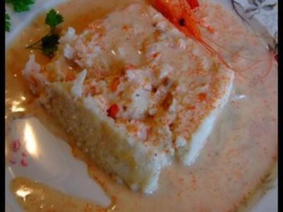 Terrine de cabillaud fourrée aux crevettes - Photo par claudi5S