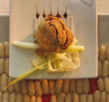 Salade de lingots et sorbet à la chicorée - Photo par Chicorée Leroux