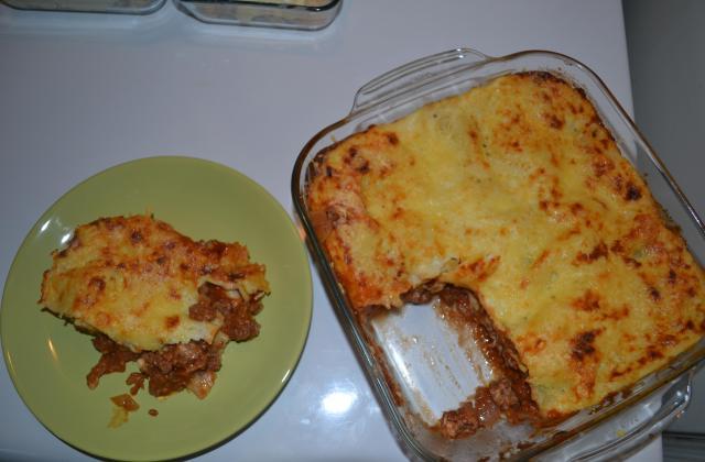 Lasagnes maison - Photo par tite mayo