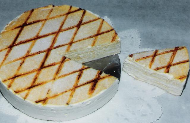 Gâteau  de crêpes - Photo par Maurice.B