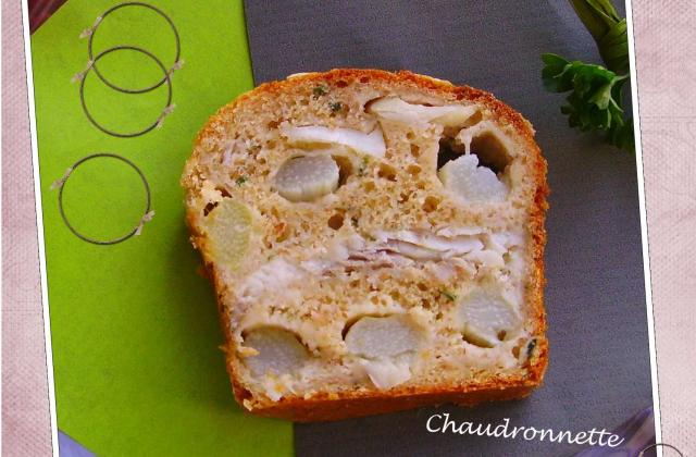Cake aux asperges et au colin - Photo par chaudrV