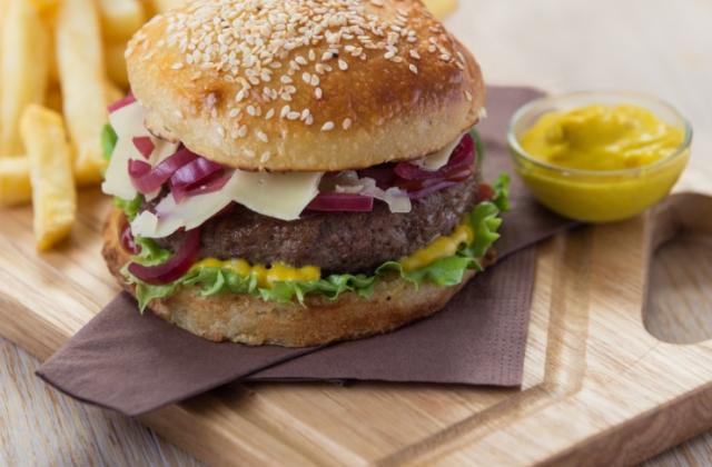 Le burger Savora - Photo par Amora