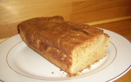 Cake à la pomme relevé de cannelle - Photo par djamelW