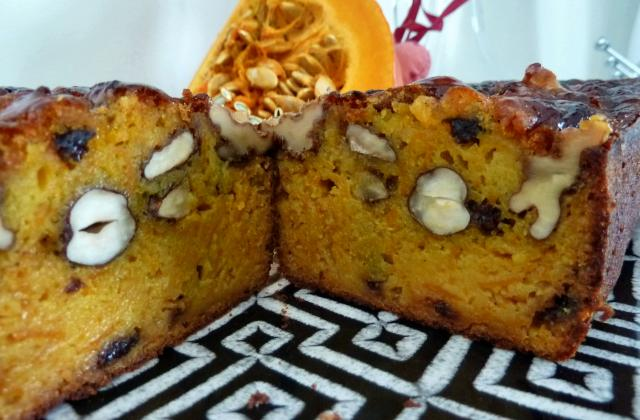 Cake au potiron et fruits secs - Photo par vision-plaisir