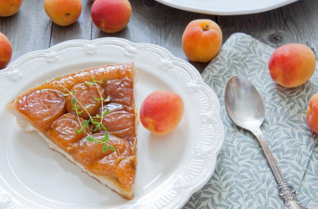 Tartelette aux abricots, thym et amandes - Photo par 750g