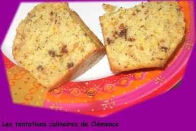 Muffins oranges, tonka, amandes et pépites de chocolat - Photo par hayatc