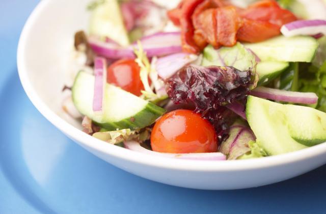 Salade d'été au Caprice des Dieux - Photo par 750g