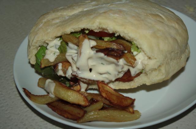 Sauce blanche pour kebab maison - Photo par balistikaurel