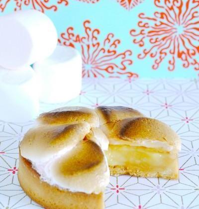 Tarte au citron et guimauve rapide - Photo par Syndicat National de la Confiserie