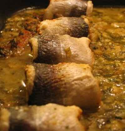 Paupiettes de poisson au vin blanc - Photo par troudy