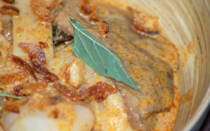 Curry Rouge de canard aux litchis - Photo par Babali