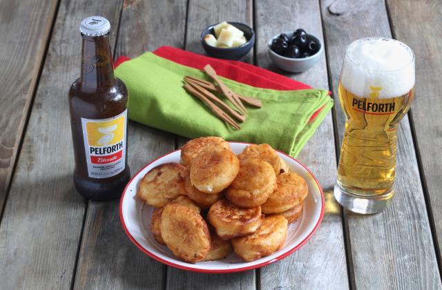 Beignets de fromage basque au piment d'Espelette - Photo par Silvia Santucci