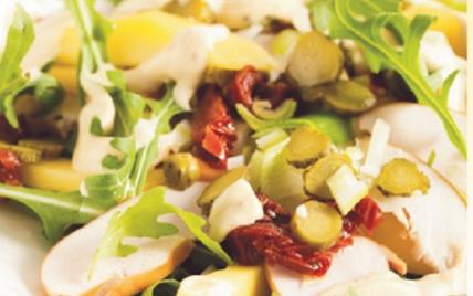 Salade poulet mangue - Photo par Bénédicta