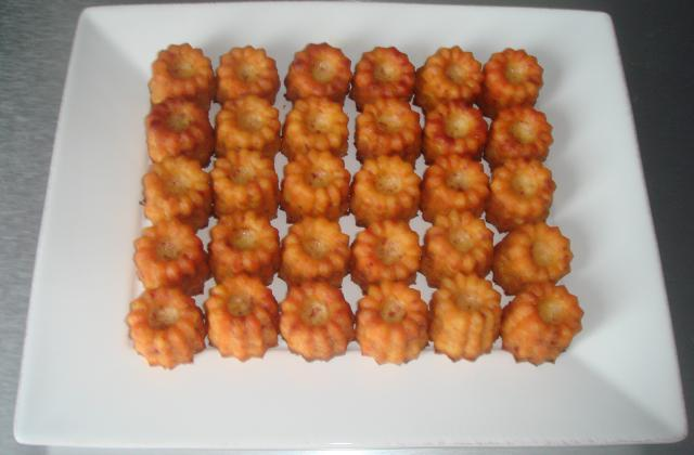 Minis cannelés chorizo/ emmental - Photo par monrou