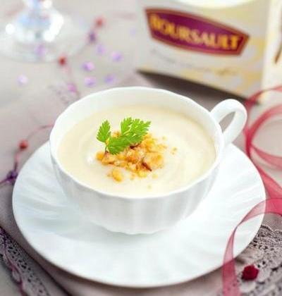 Crème de Boursault et crumble - Photo par Boursault