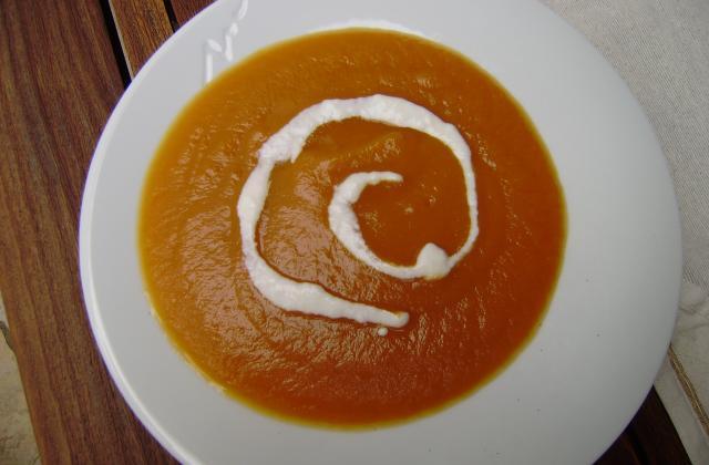 Crème de potiron - Photo par Cempaka