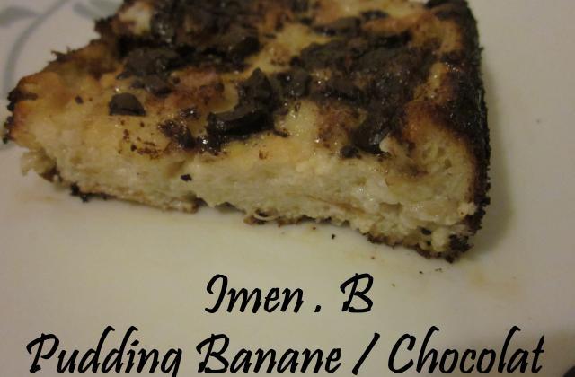 Pudding chocolat banane - Photo par imenb1