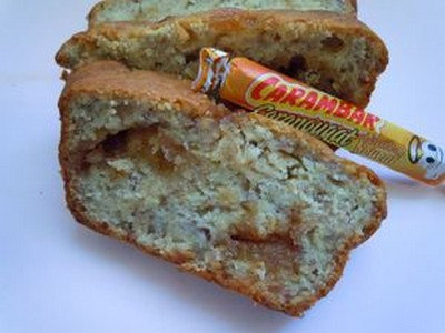 Cake bananes et caranougats - Photo par poupou5