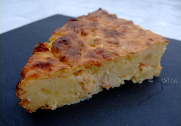 La quiche gâteau de pommes de terre au saumon - Photo par christNwn
