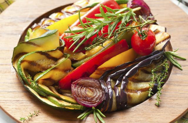 Salade de légumes grillés - Photo par La ptite cuisine de Pauline