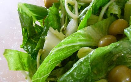 Salade verde - Photo par isaq cuisine expérimentale