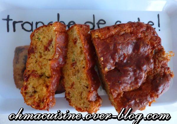 Cake boulette d'Avesnes et tomates séchées - Photo par ohmacuisine
