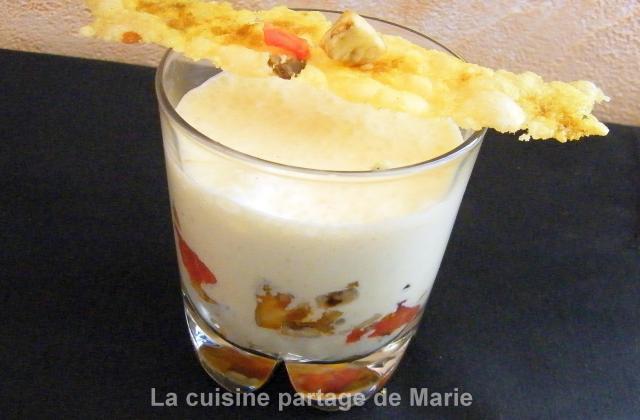 Verrine aux légumes du soleil et sauce au paprika - Photo par marierechou