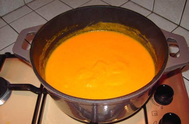 Soupe au potiron - Photo par sylvie62690