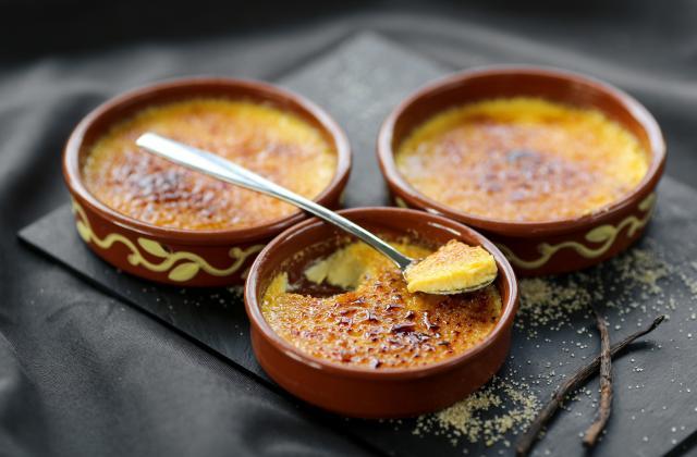 La recette de crème brûlée d'Amélie Poulain - Photo par 750g