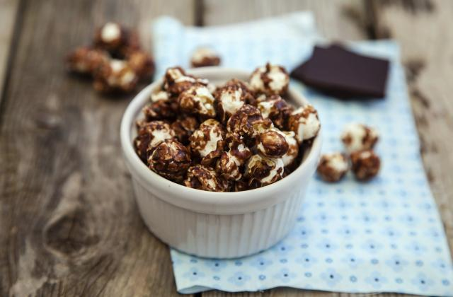 Popcorn au chocolat - Photo par 750g