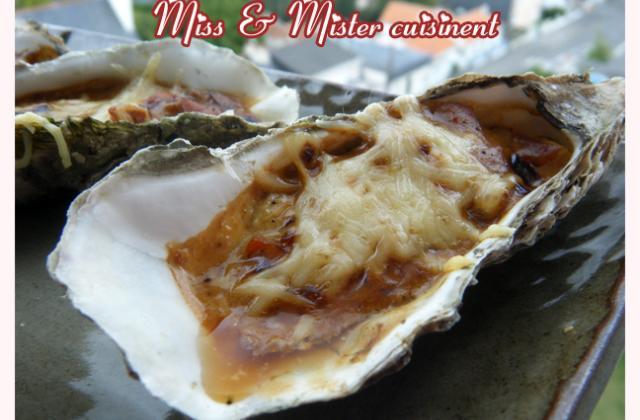 Huîtres chaudes carotte et curry - Photo par missta9