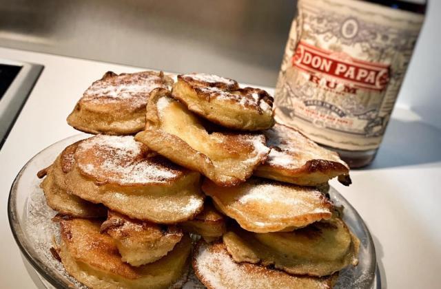 Beignets de pomme facile - Photo par MangeEtBoit
