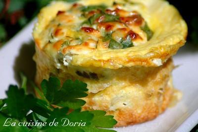 Gâteau de légumes - Photo par doriaheimbu