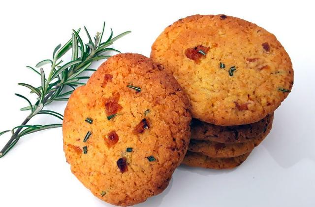 Cookies abricots et romarin - Photo par Dany33