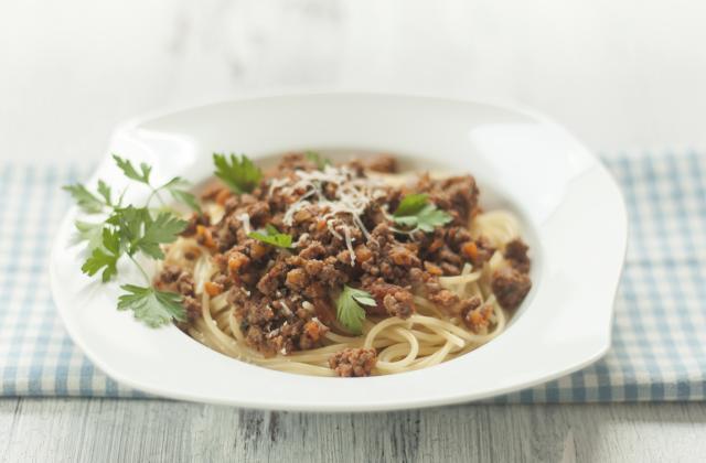Spaghetti à la bolognaise - Photo par Jeulin