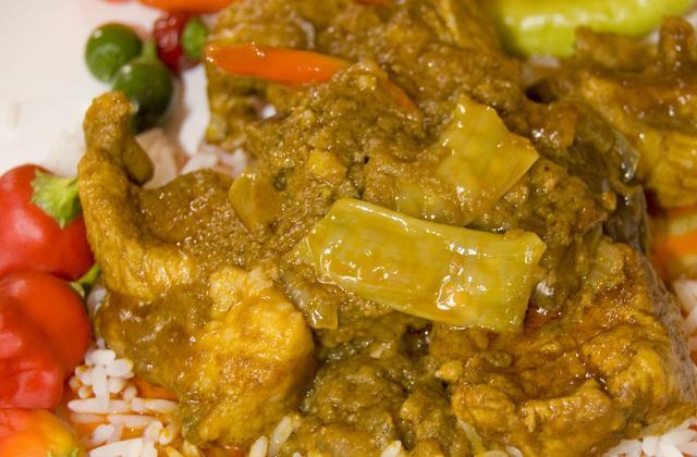 Cochon de lait sauce moambe - Photo par malikele