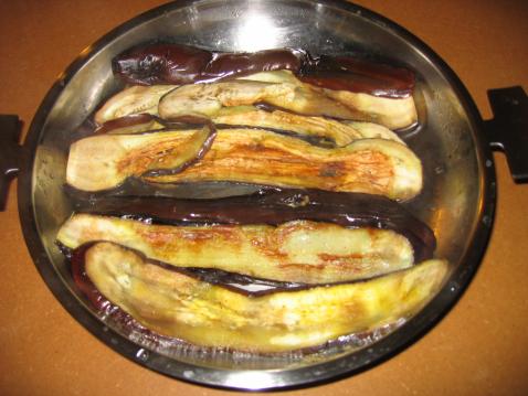 Tranches d'aubergines grillés - Photo par raverdy perrine
