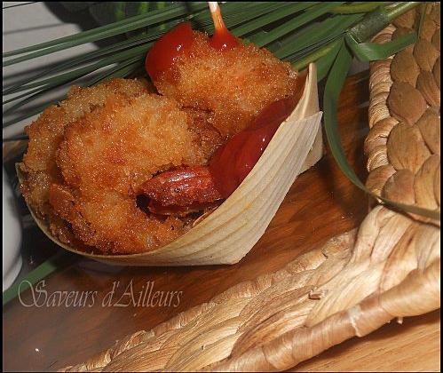 Crevettes panées à la japonaise - Photo par lfirda