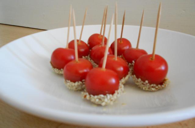 Petites tomates d'amour pour l'apéritif - Photo par Mcl86