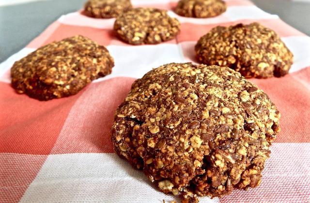 Cookies vegan et fitness abricot-pomme-cannelle - Photo par cherrycordia