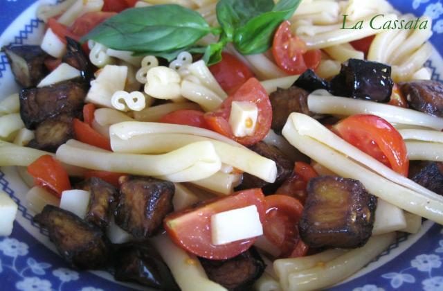 Salade de pâtes maison - Photo par Sonia