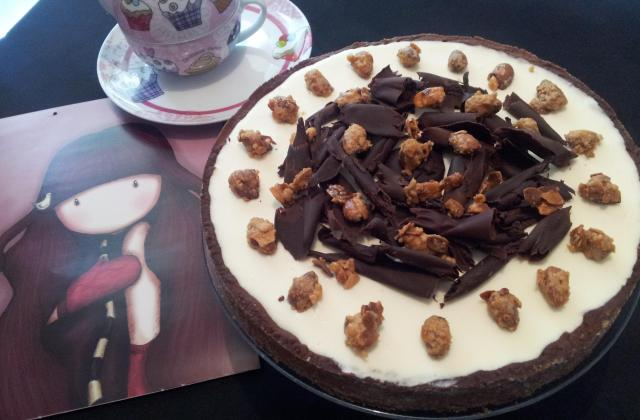 Tarte aux copeaux de chocolat  - Photo par Lady Patisserie