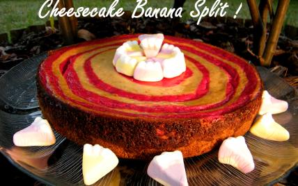 Banana split Cheesecake - Photo par chouya