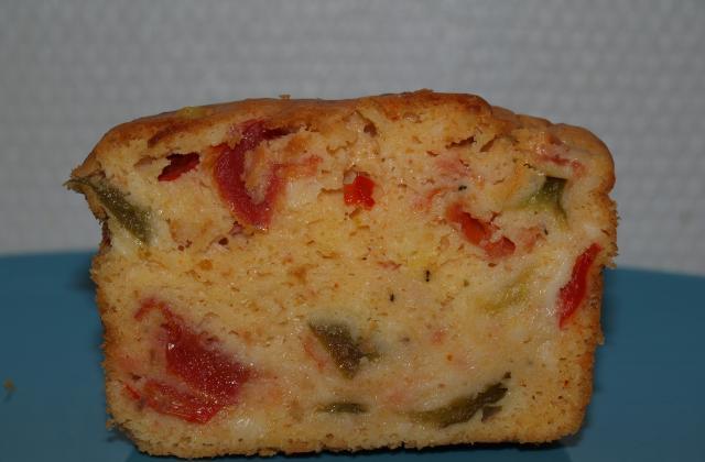 Cake façon poulet basquaise - Photo par paulinc7