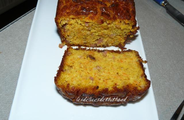 Cake aux carottes et lardons express - Photo par Communauté 750g
